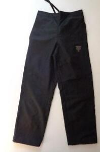 Men's Adidas Chicago Bulls All Black Lined Casual Pants NBA Embroidered Sz Small