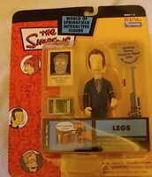 Playmates The Simpsons LEGS MOBSTER Figure World Of Springfield Series 13