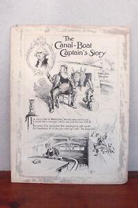 1912 Reginald Birch Illustration, Canal-Boat Captain's Story, Malcolm Douglas