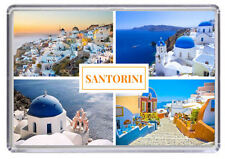 Santorini, Greece Fridge Magnet 04
