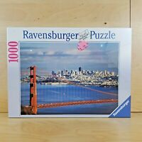 RAVENSBURGER 1000 PIECE JIGSAW PUZZLE GOLDEN GATE BRIDGE 156634 BRAND NEW SEALED