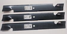 """Qty-3 24-3/8"""" Stens 355-117 Blades for 72"""" Deck Exmark 103-2531-S 1-643097"""
