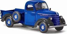 Modellini statici di auto, furgoni e camion pickup nero pressofuso