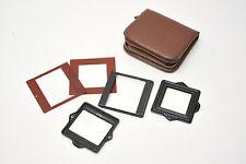 Rolleiflex TLR  645 & superslide Masks with Case