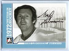 ITG 1972 The Year in Hockey  Autograph  #A-GLAB  Gord Labossiere