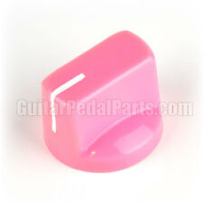 10x Pink Pointer Knobs - Davies 1510 Style for Guitar Pedals