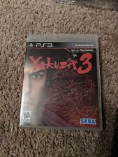 Yakuza 3 (Sony PlayStation 3, 2010) NICE CONDITION PS3