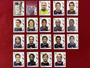 Panini World Cup Germany 2006 WC 06 USA Team Stickers