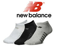 New Balance No Show 6 Pack Black White Unisex NB Dry Arch Support Mec Socks N032