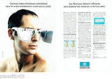 PUBLICITE ADVERTISING 046  1994   nouveaux verres Varilux d'Essilor (2p) lunette