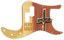 P Bass Precision Pickguard Custom Fender 13 Hole Guitar Pick Guard BibleCrucifix