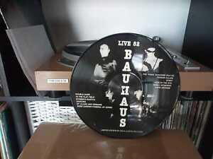 Vinile BAUHAUS Live 82  LP Bootleg edizione limitata PICTURE DISC Nuovo raro