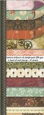 DOVECRAFT Santoro Willow 6 x 6 sample pack - 1 feuille de chaque conception 12 feuilles