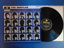 Los Beatles de un duro día de noche Parl - 3N-3N Reino Unido 1st pr Lp en muy buena condición +