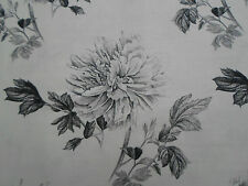 "Designers Guild Tela ~' Hiyoku "" 2,75 Metros Grafito De Lino Mezcla ~ ¡ Kaori Tejidos"