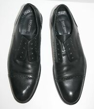 Stacy Adams Prescott Oxfords dress shoes Leather upper sz. 7.5 perforated