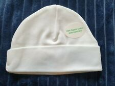 Newborn 100% Organic Cotton Solid Color Baby Beanie Hat For Boys And Girls.