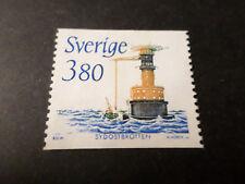SUEDE SVERIGE, 1989, timbre 1510, PHARE, LIGHTHOUSE oblitéré SWEDEN STAMP