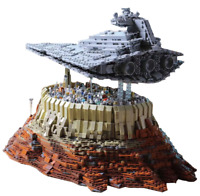 Star Wars 18916 First Order Destroyer The Empire Over Jedha City Fit MOC