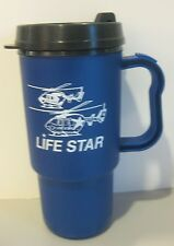Life Star Travel Mug Cup For Hot Cold Beverage 16oz Made In the USA Helicopter