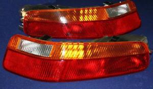 PORSCHE 928 S4 GT GTS SET EU TAIL LIGHTS OEM 1987 - 1995 NEW