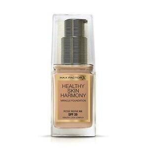 Max Factor Healthy Skin Harmony Foundation SPF20 Choose from 10 shades