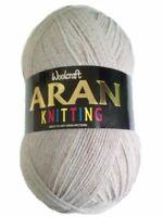 400g Woolcraft 25% Wool Aran Yarn - 852-Hamish