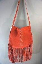 Raj Cross Body Suede Fringe Bag Hippie Bohemian Large Shoulder bag #227