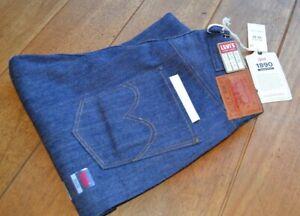 LVC 1890 501XX Jeans 2x1 Denim Levis Vintage Clothing Waist Overalls NWT W32 STF