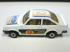 1978 Matchbox Superfast #9 Ford Escort RS2000 Shell Dunlop Cibie England Lesney
