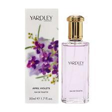 YARDLEY LONDON APRIL VOILETS 50ML EAU DE TOILETTE PERFUME FOR WOMEN