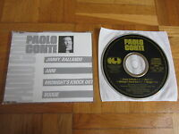 PAOLO CONTE Jimmy Ballando RARE 1988 GERMANY CD single