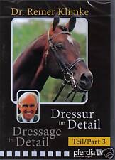 NEW DVD DRESSAGE IN DETAIL part 3 Dr Reiner Klimke
