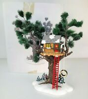 Department 56 THE ORIGINAL SNOW VILLAGE Treetop Tree House with Box