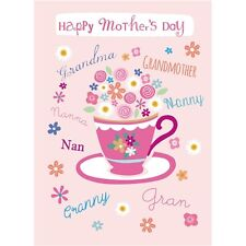 Mothers Day Card - Tea For Granny