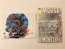 PROMO CARD: MOUSE STUDIOS: THE ART OF STANLEY MOUSE 21st Century Archives (no#)