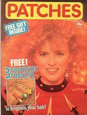 Patches Magazine 27 February 1982 No. 156      Duran Duran      Modern Romance
