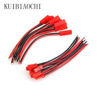 15 Pairs Good Quality JST Connector Battery RC 150mm / 100mm Female and Male