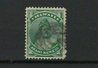 hawaii 1875 - 1886 1 cent used  stamp r13063