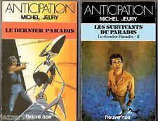 ANTICIPATION n°1365-1376 ¤ MICHEL JEURY ¤ LE DERNIER PARADIS 1&2 ¤ fleuve noir