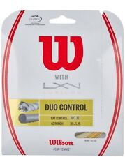 NEW TOUR PRODUCT! Wilson Duo Control 4GR 125 & NXT Control 16 Tennis String
