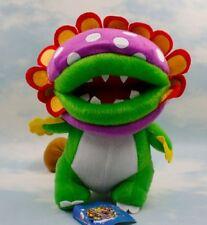 "Super Mario 9"" Petey Dino Piranha Stuffed Animal Plush Doll Action Figure Toy"