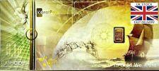 🇬🇧🇬🇧Nadir Cashgold - 0.1g Gram Gold Bar - Fine - 999 Pure 24 Karat Gold🇬🇧