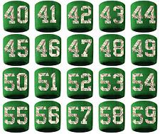 #40-59 Number Sweatband Wristband Football Baseball Basketball Green Money Print