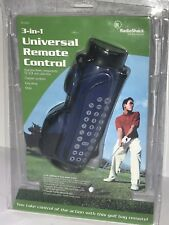 NEW Radioshack 3 in 1 Universal Remote Control - Golf Bag Shape NIP