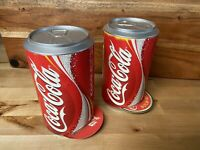 Pair Of Collectible Coca Cola Coaster Dispensers With 152 coasters Total