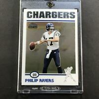 PHILIP RIVERS 2004 TOPPS CHROME #230 ROOKIE RC SAN DIEGO CHARGERS NFL