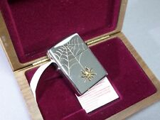 """ZIPPO rarità """"SPIDER"""" Silver Plate-ltd.0002/1500 - NUOVO & OVP-zsp1"""