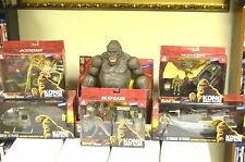 New Kong Skull Island Complete Toy Set Wal-Mart Exclusive!!!