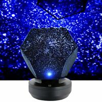 LED Galaxy Starry Night Light Laser Projector Ocean Star Sky Party Lamp Gift